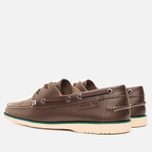 Мужские ботинки Lacoste Corbon 8 SRM Leather Dark Brown фото- 2