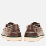 Мужские ботинки Lacoste Corbon 8 SRM Leather Dark Brown фото- 3