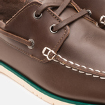 Мужские ботинки Lacoste Corbon 8 SRM Leather Dark Brown фото- 6