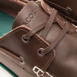 Мужские ботинки Lacoste Corbon 8 SRM Leather Dark Brown фото- 5