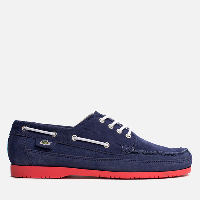 Мужские ботинки Lacoste Live Oxcroft Suede Dark Blue/Red