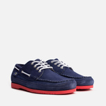 Мужские ботинки Lacoste Live Oxcroft Suede Dark Blue/Red фото- 1