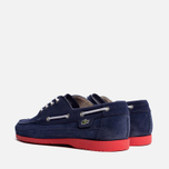 Мужские ботинки Lacoste Live Oxcroft Suede Dark Blue/Red фото- 2
