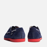 Мужские ботинки Lacoste Live Oxcroft Suede Dark Blue/Red фото- 3