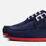 Мужские ботинки Lacoste Live Oxcroft Suede Dark Blue/Red фото- 5
