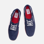 Мужские ботинки Lacoste Live Oxcroft Suede Dark Blue/Red фото- 4