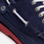 Мужские ботинки Lacoste Live Oxcroft Suede Dark Blue/Red фото- 7