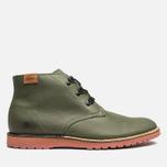 Lacoste Sherbrooke Outdoor Hi SRM Shoes Dark Green photo- 0
