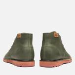 Lacoste Sherbrooke Outdoor Hi SRM Shoes Dark Green photo- 3