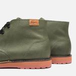 Lacoste Sherbrooke Outdoor Hi SRM Shoes Dark Green photo- 6