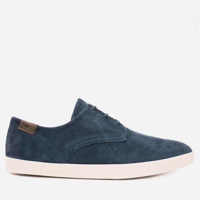 Lacoste Zimri 3 SRM Suede Men's Shoes Dark Blue