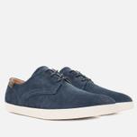 Lacoste Zimri 3 SRM Suede Men's Shoes Dark Blue photo- 1