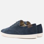 Lacoste Zimri 3 SRM Suede Men's Shoes Dark Blue photo- 2