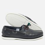 Loake Waxy Boat Men's Shoes Blue photo- 2