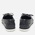 Мужские ботинки Loake Waxy Boat Blue фото- 3
