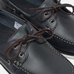 Loake Waxy Boat Men's Shoes Blue photo- 5