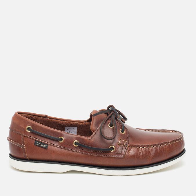 Мужские ботинки Loake Waxy Boat Brown