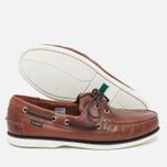 Мужские ботинки Loake Waxy Boat Brown фото- 2