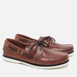 Мужские ботинки Loake Waxy Boat Brown фото- 1