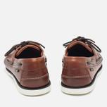 Мужские ботинки Loake Waxy Boat Brown фото- 3
