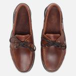 Мужские ботинки Loake Waxy Boat Brown фото- 4