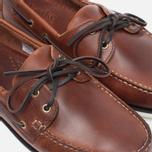 Мужские ботинки Loake Waxy Boat Brown фото- 5