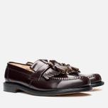 Мужские ботинки Loake Brighton Polished Loafer Oxblood фото- 1