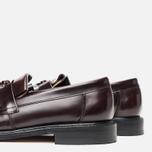 Мужские ботинки Loake Brighton Polished Loafer Oxblood фото- 5