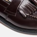 Мужские ботинки Loake Brighton Polished Loafer Oxblood фото- 7