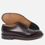 Мужские ботинки броги Loake Royal Polished Oxblood фото- 2