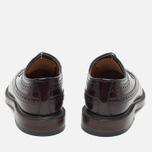 Мужские ботинки броги Loake Royal Polished Oxblood фото- 3