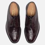 Мужские ботинки броги Loake Royal Polished Oxblood фото- 4