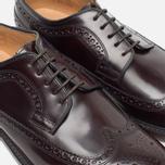 Мужские ботинки броги Loake Royal Polished Oxblood фото- 5
