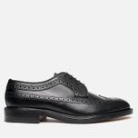 Мужские ботинки Loake Taunton Grain Black фото- 0