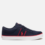 Мужские кеды Polo Ralph Lauren Bolingbrook II Navy/Red фото- 0