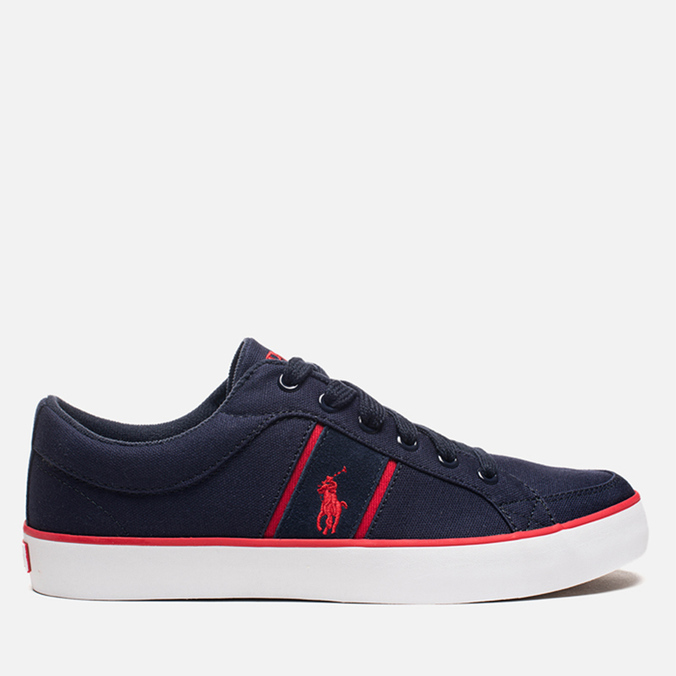 Мужские кеды Polo Ralph Lauren Bolingbrook II Navy/Red