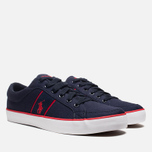 Мужские кеды Polo Ralph Lauren Bolingbrook II Navy/Red фото- 1