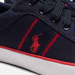 Мужские кеды Polo Ralph Lauren Bolingbrook II Navy/Red фото- 7