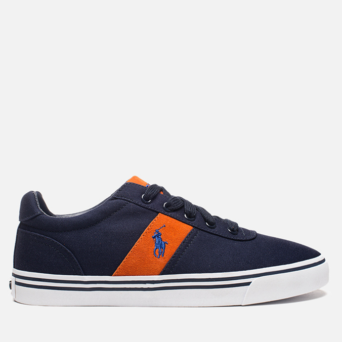 Мужские кеды Polo Ralph Lauren Hanford NE Navy/Orange
