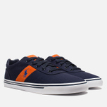 Мужские кеды Polo Ralph Lauren Hanford NE Navy/Orange фото- 1