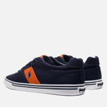 Мужские кеды Polo Ralph Lauren Hanford NE Navy/Orange фото- 2