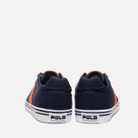 Мужские кеды Polo Ralph Lauren Hanford NE Navy/Orange фото- 3
