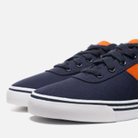 Мужские кеды Polo Ralph Lauren Hanford NE Navy/Orange фото- 5
