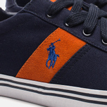 Мужские кеды Polo Ralph Lauren Hanford NE Navy/Orange фото- 7