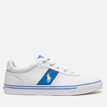 Мужские кеды Polo Ralph Lauren Hanford NE White/Blue фото- 0