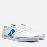 Мужские кеды Polo Ralph Lauren Hanford NE White/Blue фото- 1