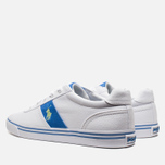 Мужские кеды Polo Ralph Lauren Hanford NE White/Blue фото- 2