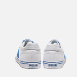 Мужские кеды Polo Ralph Lauren Hanford NE White/Blue фото- 3