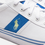 Мужские кеды Polo Ralph Lauren Hanford NE White/Blue фото- 7