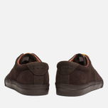 Мужские кеды Polo Ralph Lauren Vaughn Dark Brown фото- 3